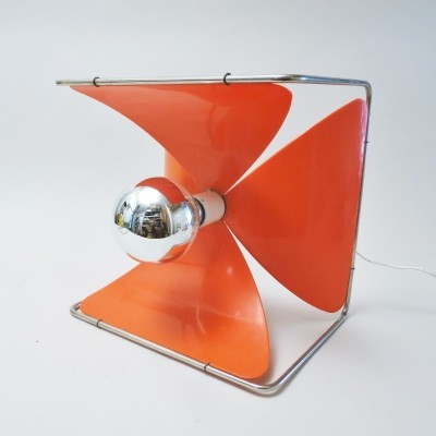 Pétales desk lamp by Jean Louis Rignault for Rignault France, 1970s