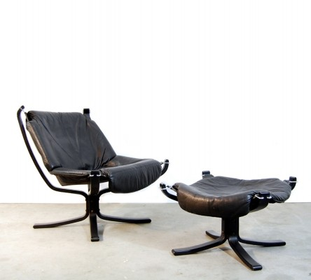 Falcon arm chair from the seventies by Sigurd Ressell for unknown producer
