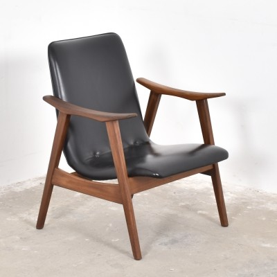 Arm chair from the fifties by unknown designer for Wébé