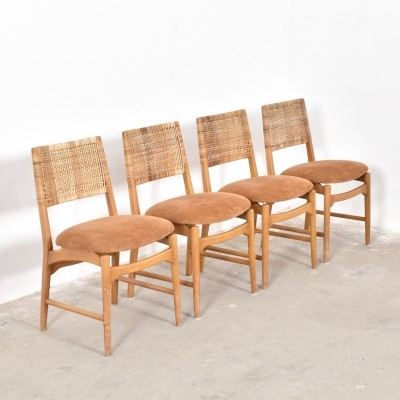 Set of 4 CB dinner chairs from the fifties by William Watting for Fristho