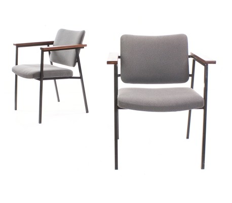 Set of 2 lounge chairs from the sixties by Gijs van der Sluis for unknown producer