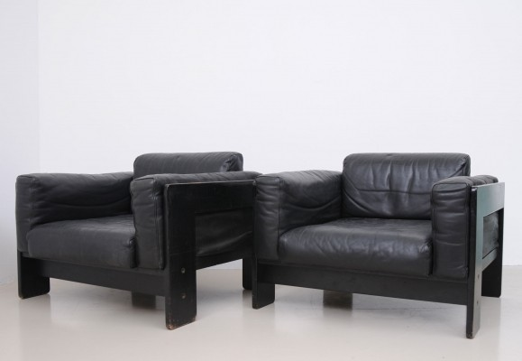 Set of 2 lounge chairs from the sixties by Tobia Scarpa for Knoll International