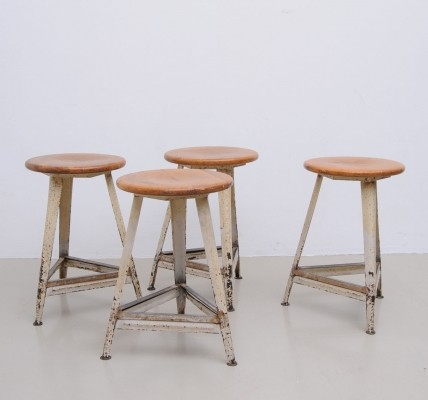 16 stools from the thirties by unknown designer for unknown producer