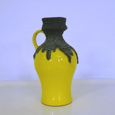 Fat Lava vase from the sixties by unknown designer for Roth Ceramic Germany