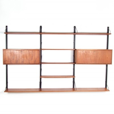 Royal System wall unit by Cado, 1940s