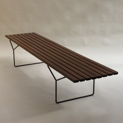 Model 400 bench from the fifties by Harry Bertoia for Knoll