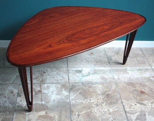 Teak Tripod Coffee Table from BC Mobler
