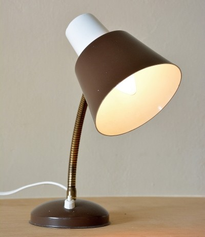 Desk lamp by H. Busquet for Hala Zeist, 1950s