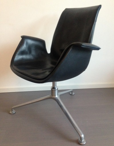 Office chair from the sixties by Preben Fabricius & Jørgen Kastholm for Walter Knoll