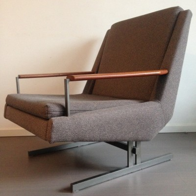2 x lounge chair by Louis van Teeffelen for Wébé, 1960s