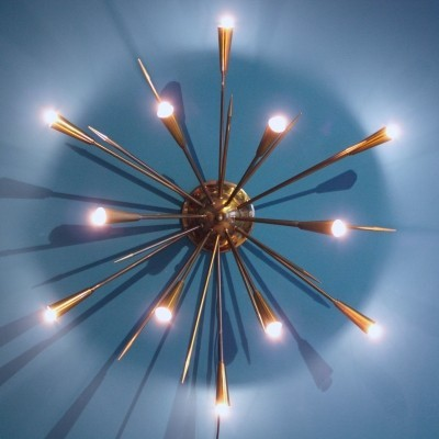 Ceiling lamp from the fifties by unknown designer for unknown producer
