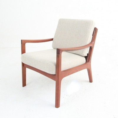 Model 169 lounge chair by Ole Wanscher for France & Son, 1960s