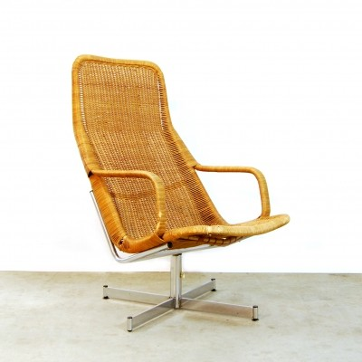 614c arm chair by Dirk van Sliedregt for Rohé Noordwolde, 1960s