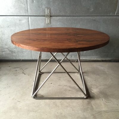 Thonet model Eiffel coffee with rosewood table top