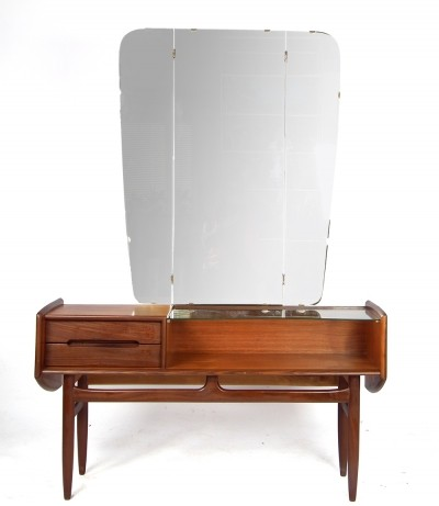 Dressing table / vanity from the fifties by unknown designer for unknown producer