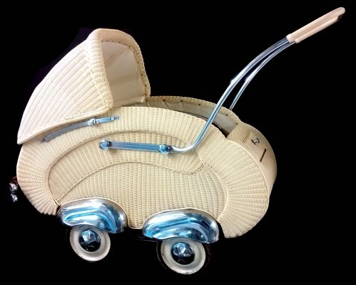 Vintage Baby Wagon, 1950s