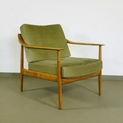 Arm chair from the sixties by Wilhelm Knoll for Knoll Antimott
