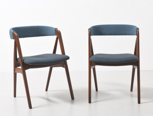 2 Model 31 dinner chairs from the sixties by Kai Kristiansen for unknown producer