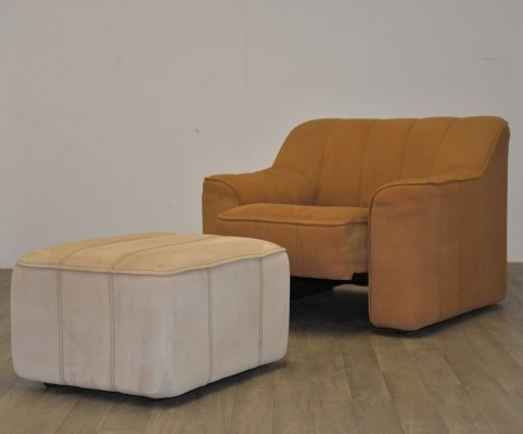 DS 44 arm chair from the seventies by unknown designer for De Sede