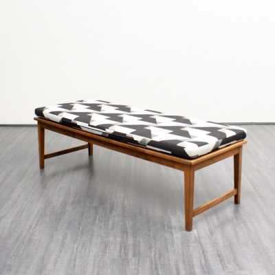 2 benches from the sixties by unknown designer for unknown producer