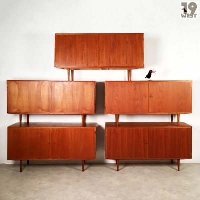 5 sideboards from the sixties by Carlo Jensen for Hundevad & Co