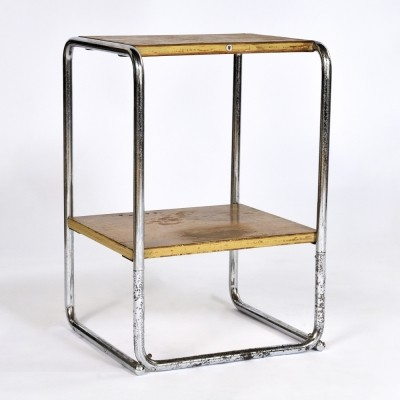 MM 3 side table from the thirties by unknown designer for Thonet