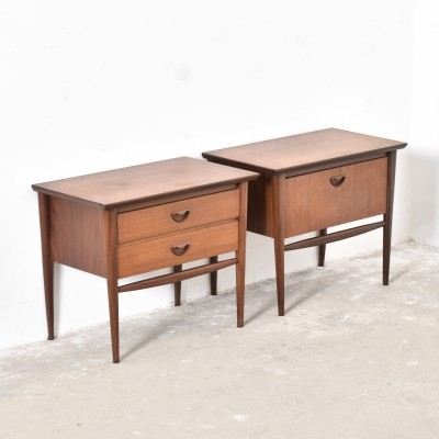 Pair of cabinets by Louis van Teeffelen for Wébé, 1950s