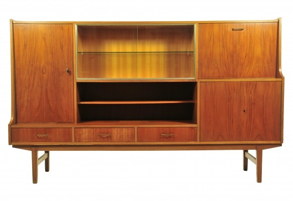 Highboard cabinet from the sixties by unknown designer for unknown producer