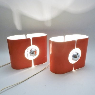 Set of 2 desk lamps from the sixties by unknown designer for Stilux Milano