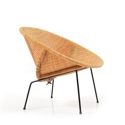 Danish Basket Lounge Chair