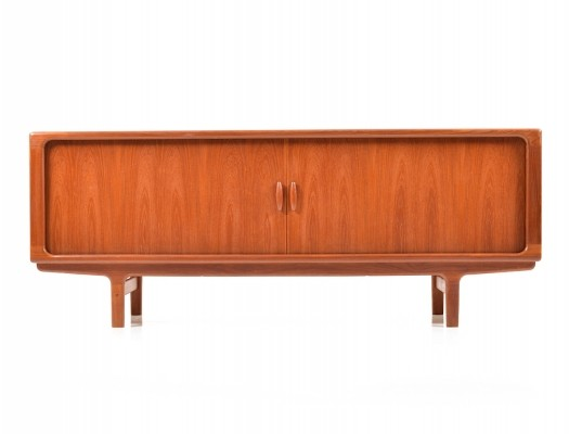 Jalousie door sideboard from the sixties by unknown designer for Dyrlund