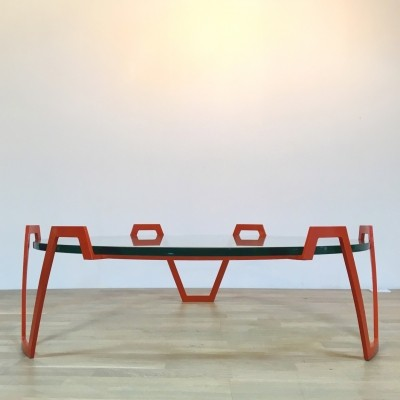 Val d'or coffee table from the fifties by Jean Royère for unknown producer