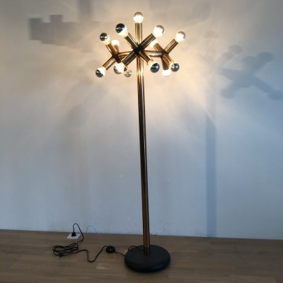 Atomic floor lamp by Robert Haussmann for Swiss Lamps International Zürich, 1950s