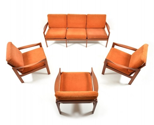 Seating group from the sixties by Illum Wikkelsø for Niels Eilersen