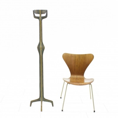 Large brutalist candle holder from the seventies