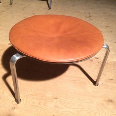 PK33 stool from the fifties by Poul Kjærholm for Fritz Hansen