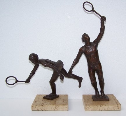 Olympic Series Bronze sculpture by Sterett Gittings Kelsey for Royal Copenhagen, 1970s