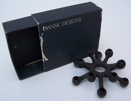 Spider Candle holder from the sixties by Jens Quistgaard for Dansk Designs