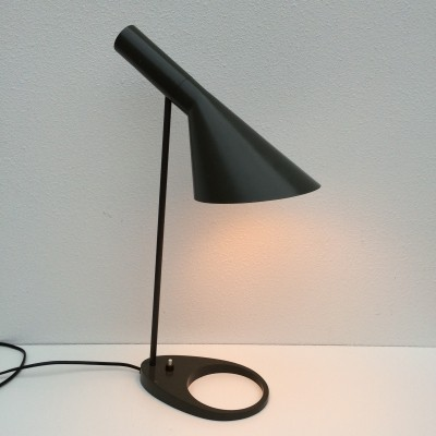 Rare color first edition AJ Visor lamp by Arne Jacobsen for Louis Poulsen