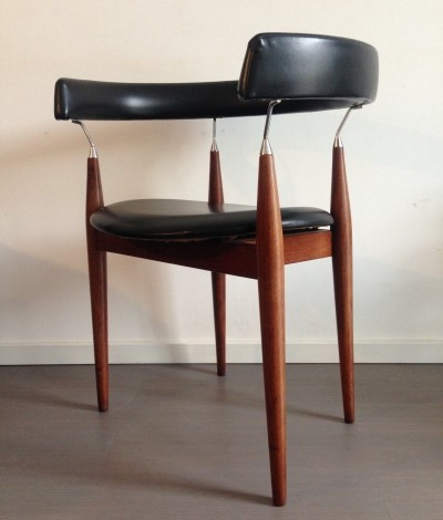 Rondo arm chair from the sixties by Jan Lunde Knutsen for Sørli Fabrikker