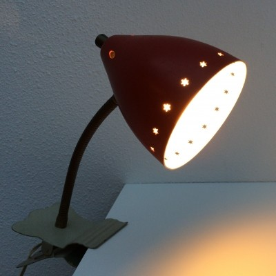 Ster serie desk lamp from the sixties by unknown designer for Hala Zeist