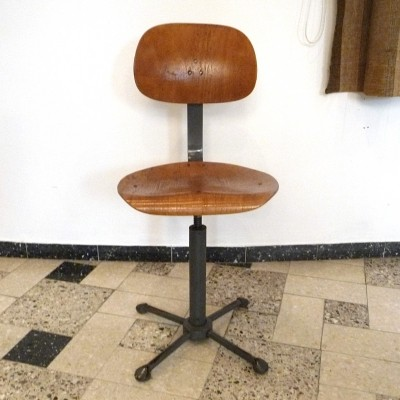 Vintage office chair, 1930s