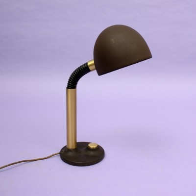 Desk lamp from the seventies by Egon Hillebrand for unknown producer
