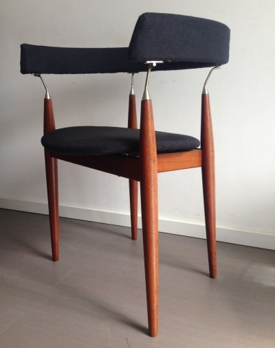 2 x Rondo arm chair by Jan Lunde Knutsen for Sørli Fabrikker, 1960s