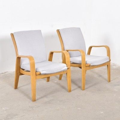 Set of 2 FB05 arm chairs from the fifties by Cees Braakman for Pastoe