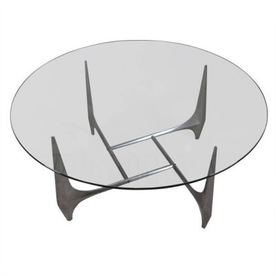 Coffee table from the sixties by Knut Hesterberg for Roland Schmitt