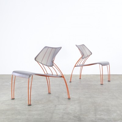 Set of 2 PS Hasslo lounge chairs from the nineties by Monika Mulder for Ikea