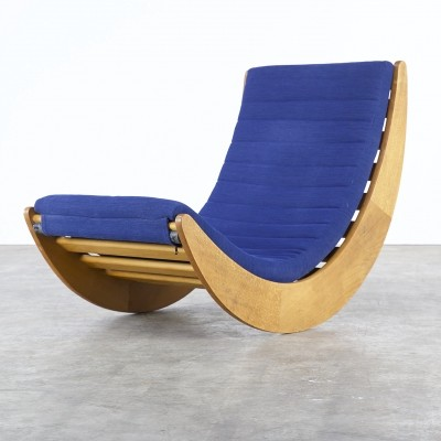 Rocking chair from the seventies by Verner Panton for Rosenthal