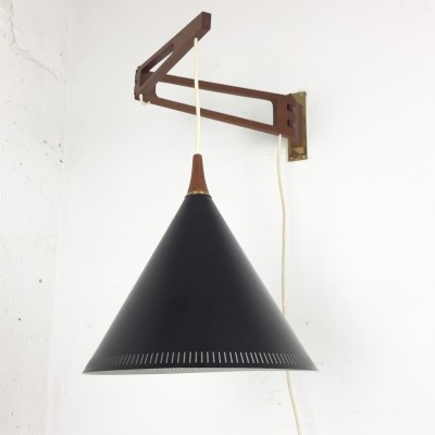 Wall lamp by Willem Hagoort for Hagoort Lighting, 1950s
