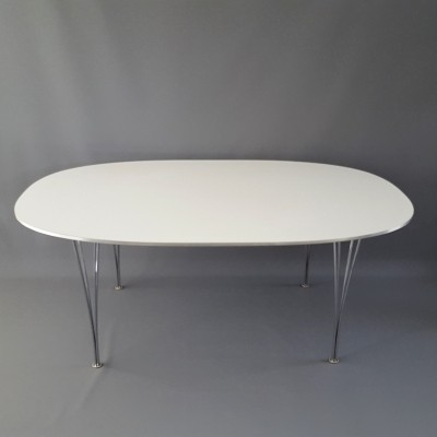 Super Ellips dining table from the nineties by Piet Hein & Bruno Mathsson for Fritz Hansen